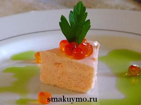 Мусс из лосося рецепт