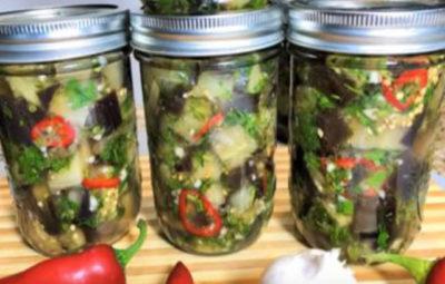 Вкусные заготовки: баклажаны как грибы на зиму